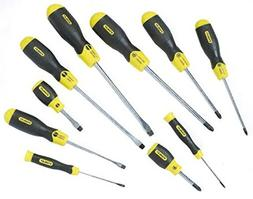 "Stanley 2-65-014 PZ Screwdriver-Set""Cushion Grip"" , Multicol"