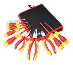 BOOHER 0200101 10-Piece 1000V Insulated Electrician's Tool S