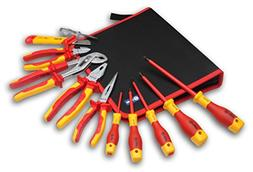 BOOHER 0200102 11-Piece 1000V Insulated Tools Set