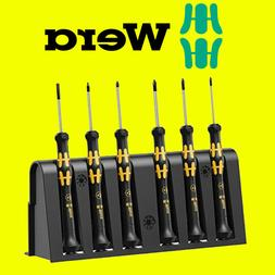 Wera 030180 Tools ESD Screwdriver Set & Rack for Electronic