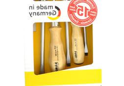 Felo 07157 22155 Slotted and Phillips Wood Handle Screwdrive