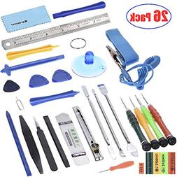 Warmstor 26 in 1 Most Professional Opening Pry Tool Kit with