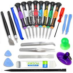 ACENIX 24 iN 1 Repair Opening Pry Tools Screwdriver Kit Set