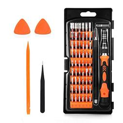 TraderPlus 64 in 1 Professional Screwdriver Set with 56 Magn