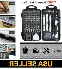 115 in 1 Magnetic Precision Screwdriver Set Computer WATCH P