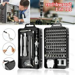 117 in 1 Magnetic Screwdriver PC Phone Precision Electronic