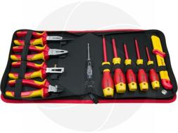 11pc VDE Insulated Hand Tools Pliers Cable Stripper Screwdri