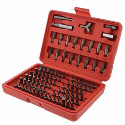 ABN 1275 - 100 Piece Tamper Security Bit Set Metric and SAE