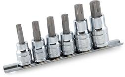 Titan Tools 16116 Star Bit Socket Set - 6 Piece