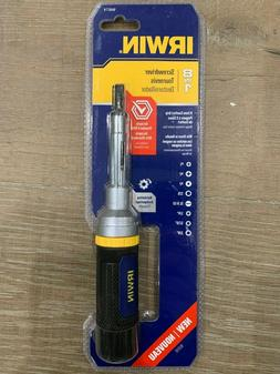 Irwin 1948774 IRWIN 8-in-1 Ratcheting Screwdriver BRAND NEW