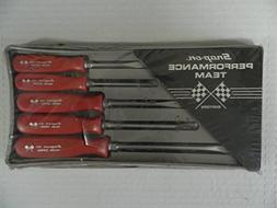 Snap-On 1980's Performance Team Edition Red Screwdriver Set,