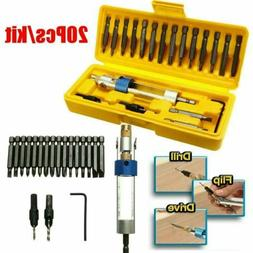 20X Half Time Drill Driver Set Multi Function Screwdriver To