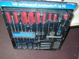 Performance Tool 24 piece screwdriver set