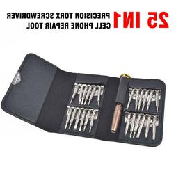 25 in 1 Precision Torx Screwdriver Set Cell Phone IPhone Lap