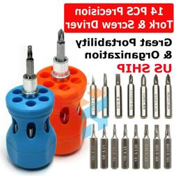 25PCs/Set Small Mini Repair Precision Screwdriver Set Torx T