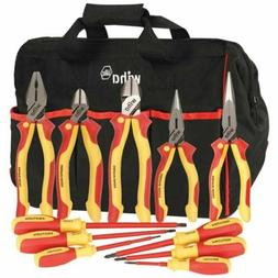 Wiha 32390 11 Pc ProTurn Insulated Pliers & Screwdriver Set
