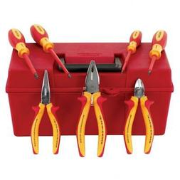 Wiha 32899 7-Piece Proturn Insulated Pliers and Screwdriver
