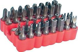 33 Pc. Security Bit Set Screwdriver Tamper Proof Screw