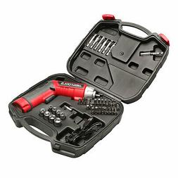 Great Working Tools 45 Piece Cordless Power Screwdriver Set,