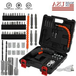 45in1 Rechargeable Wireless Electric Screwdriver Drill Set C