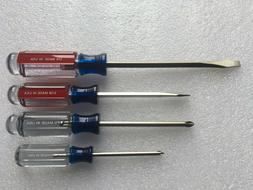 4pcs screwdriver set p1 p2 1 4