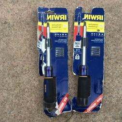 IRWIN 5 Piece Multi Bit Screwdriver Extending Driver 7 Locki