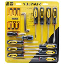 STANLEY 60-220 20-Piece Screwdriver Set NEW