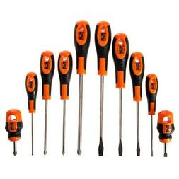 BAHCO 605-10-PC-AU 10pce SCREWDRIVER SET IN CASE