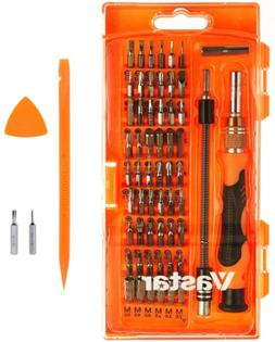 62 Long Length Drill Bits In 1 56 Magnetic Driver Kit, Preci