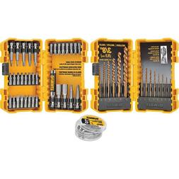 DEWALT 68-Piece Steel Hex Shank Screwdriver Bit Set  DWA2DD6