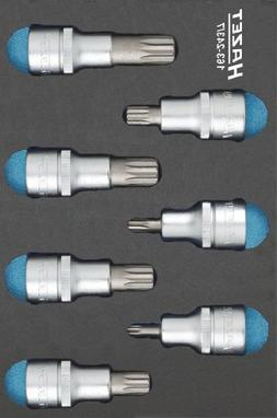 Hazet 163-243/7 Screwdriver socket set