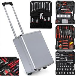 799 PCS Tool Set Mechanics Tool Kit Wrenches Socket w/Trolle