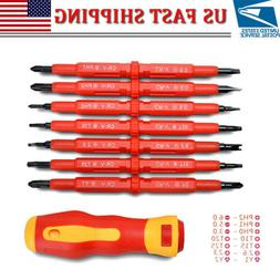 7Pcs Multi-purpose Electrician's Insulated Electrical Hand S