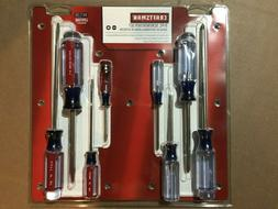 Craftsman 8 Pc. Phillips and Slotted Flathead Screwdriver Se