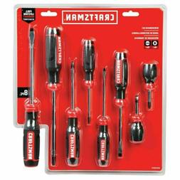 CRAFTSMAN 8-Piece Professional Durable Screwdriver Set
