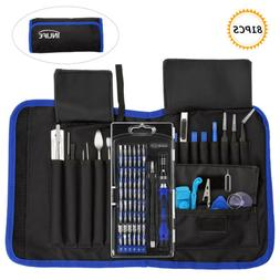 INLIFE 81PCS Multi-Purpose Repair Tools Screwdriver Set Kit