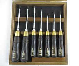 Narex 858110 7 Piece Screwdriver Set with Philips #1 and #2,