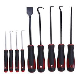 9 in 1 Hook/Oil Seal Screwdriver Sets, Mini & Standard Picks