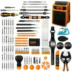 Screwdriver Set 107-IN-1 with Pocket Tool Bag for iPhone Com