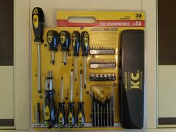 KC Professional 99043 Screwdriver Set, 43 Piece