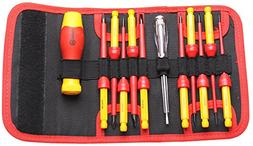 BOOHER 0200103 12-Piece 1000V Insulated Changeable Screwdriv
