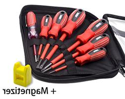 Finder 7 Pcs Anti-rust Insulated Electrician Screwdriver Set