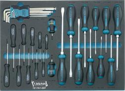 Hazet 163-141/31 Screwdriver set with tool tray insert