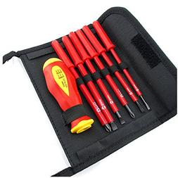 Insulated Electrical Screwdriver Set CR-V Slotted Phillips H