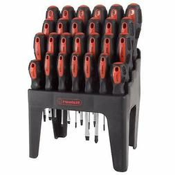 26 Piece Screwdriver Set with Wall Mount, Stand and Magnetic