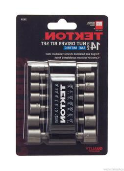 TEKTON 2928 14-Piece Power Nut Driver Bit Set