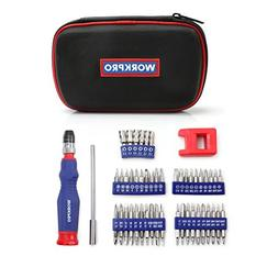 WORKPRO Precision Screwdriver Kit 69-piece with Quick Load S