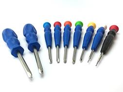 Silverhill Tools ATKY8 Triwing Screwdriver Set with Y000 scr