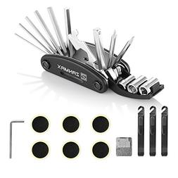 Z ZANMAX 16 in 1 Multi-Function Bicycle Repair Tool Kit, Bik