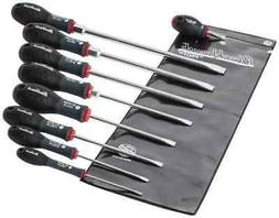 Blackhawk by Proto. 9 Piece Slotted Screwdriver Set Round Sh